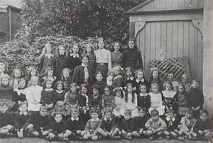 Pupils of Brackley College, Chatswood, c.1912 (Picture Willoughby)