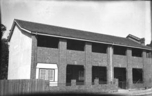 St Pius X Boys College School classrooms, ca.1936.