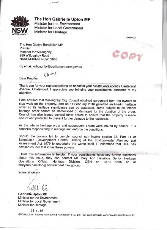 9 Centennial Response002