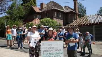 9 Centennial Protest